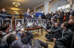 Foto: Ucrania no normalizará sus relaciones con Rusia si no le devuelve Crimea (HANDOUT . / REUTERS)