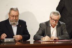 Foto: UGT manté en les negociacions del pacte salarial un increment de l'1,5% el 2015 (EUROPA PRESS)