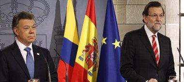 Foto: Rajoy y Santos niegan complot para derrocar a Maduro en Venezuela (EUROPA PRESS)