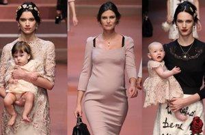 Foto: Dolce & Gabbana y su oda a todas las 'mammas' (CORDON PRESS)