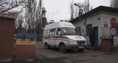 Foto: Más de 30 muertos tras una explosión en una mina en el este de Ucrania (REUTERS)