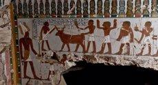 Foto: Descobreixen la tomba d'un jerarca egipci de la XVIII Dinastia (MINISTERIO DE ANTIGÜEDADES DE EGIPTO)