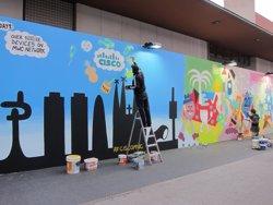 Foto: MWC.- Les Rambles de Barcelona prenen les àrees de descans i contactes dels congressistes (EUROPA PRESS)