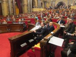 Foto: CiU i ERC aproven els Pressupostos 2015 amb el rebuig de la resta de grups i 1 abstenció (EUROPA PRESS)