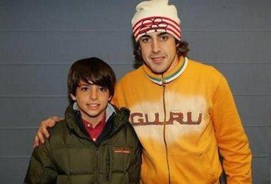 """Foto: Carlos Sainz: """"La foto que subió Alonso dio un gran impulso a mi confianza"""" (TWITTER)"""