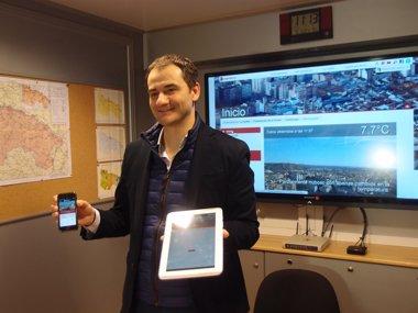 Foto: Web y la App municipal ofrecerá información climatológica en tiempo real (AYUNTAMIENTO DE LOGROÑO)
