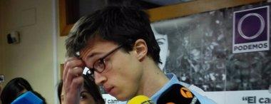Foto: Manos Limpias se querella contra Errejón por su contrato con la UMA (EUROPA PRESS)