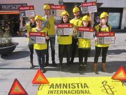 Foto: Amnistia Internacional demana que es retiri la reforma de la llei de l'avortament (EUROPA PRESS)