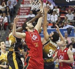 Foto: El CAI Saragossa rescindeix el contracte d'Albert Fontet i incorpora el dominicà Juan José García (ACB PHOTO)