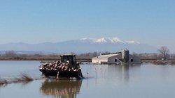 Foto: L'Estat destina 100 milions  a reparar els danys de les inundacions (GOBIERNO DE ARAGÓN)