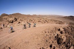 Foto: Mountain bike.- Alta muntanya, desert extrem i navegació, claus de la X Titan Desert by Garmin (MARC GASCH)