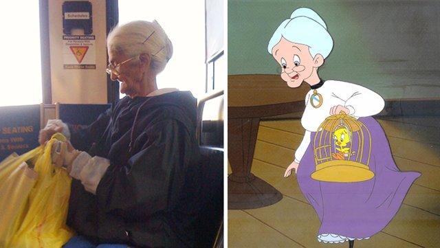 15 dibujos animados que encontraron su doble en la vida real