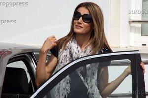 Foto: El fatal accidente de tráfico que sufrió la Reina Letizia (EUROPAPRESS/CHANCE)