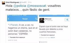 Foto: Insults a Twitter: un any de debat sense un criteri clar per part de les autoritats (@ORIOLRV)