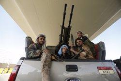 Foto: Iemen.- Avions de guerra ataquen el palau presidencial de Sanà, controlat pels houthis (KHALED ABDULLAH ALI AL MAHDI)