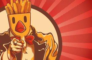Foto: Las Chickes Fries de Burger King vienen a España para montar el pollo (CHICKEN FRIES)
