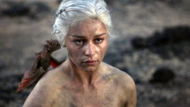 Foto: Emilia Clarke (Juego de tronos) rechazó 50 sombras de Grey por los desnudos (HBO)