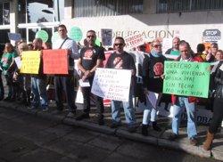 Foto: La ILP contra els desnonaments i la pobresa energètica recull 70.000 firmes (EUROPA PRESS)