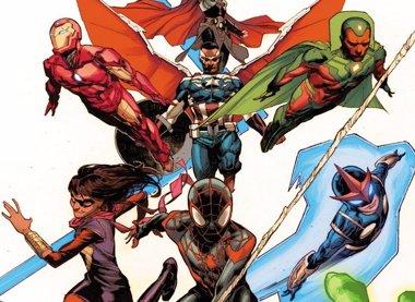 Foto: Estos son los nuevos Vengadores de Marvel (MARVEL)