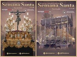 Foto: Partes que conforman los pasos de la Semana Santa de Sevilla (EUROPA PRESS)