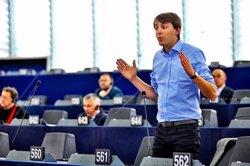 Foto: L'eurodiputat Javi López deixa el lideratge de la JSC (PSC)