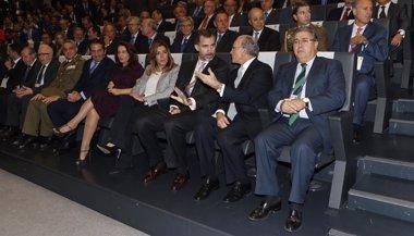 Foto: El Rey preside la celebración del 75 aniversario de Persan (EUROPA PRESS/CEDE)