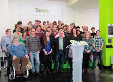 """Foto: EH Bildu dice que PNV """"no es el enemigo"""", sino el """"adversario"""" al que van a ganar (EUROPA PRESS)"""