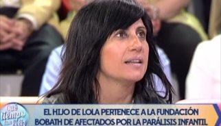 Lola Sánchez Camacho: La donación de Belén Esteban fue inesperada