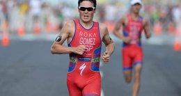 Foto: Gómez Noya, plata la segunda cita de las Series Mundiales en Auckland (DELLY CARR / ITU MEDIA)