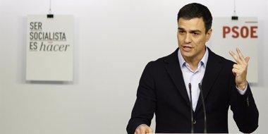 """Foto: Sánchez: El PP perdió el 22M por gobernar """"contra la clase media"""" (EUROPA PRESS)"""