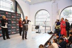 Foto: Trias destaca que la nova escultura Malip transmetrà un missatge de pau (AJUNTAMENT DE BARCELONA)