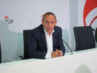 Foto: PNV cree que sólo un pacto a tres garantizará  una mayoría en Álava (EUROPA PRESS)