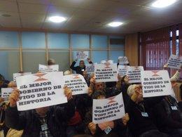 Foto: Vigo despacha en menos de media hora el pleno de la polémica (EUROPA PRESS)
