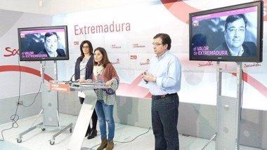 """Foto: El PSOE extremeño pone en marcha la """"web del candidato"""" Fernández Vara (PSOE)"""