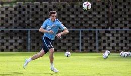 Foto: Saúl Ñiguez recibe el alta y vuelve a entrenar (ATLÉTICO MADRID)