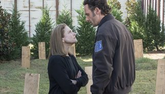 Deanna y Rick en la quinta temporada de The Walking Dead