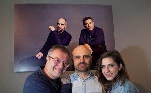 Foto: María León y Daniel Monzón inauguran la exposición de Jose Haro 'El Sueño de Andrómida' (EUROPA PRESS)