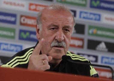 """Foto: Del Bosque: """"Ahora se pone el acento en lo negativo"""" (HENRY ROMERO / REUTERS)"""