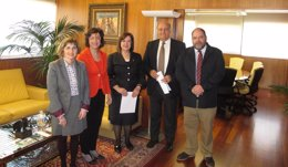 Foto: Acuerdo entre el TSJN y el Colegio de Psicólogos para hacer informes periciales (EP/TSJN)