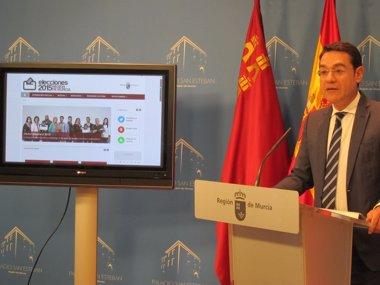Foto: Una web informará sobre las elecciones autonómicas de mayo (GOBIERNO REGIONAL)