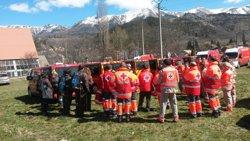 Foto: Acc.Aeri.- Creu Roja enviarà dos equips nous davant de la previsió d'una gran afluència de familiars (CREU ROJA)