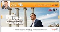 Foto: La candidatura d'Alfred Bosch (ERC) habilita un Whatsapp per a aportacions ciutadanes (ERC)