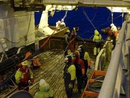 Foto: Hallan metano abiótico atrapado en el fondo del Oceáno Ártico (COURTESY OF JOEL JOHNSON. )