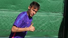 Foto: Neymar y Bravo se reincorporan al Barça (MIGUEL RUIZ/FCB)