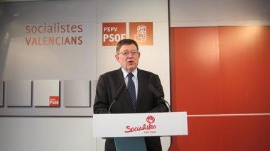 "Foto: Puig ve ""fallida"" esta legislatura marcada por la corrupción de la ""mafia"" del PP en Gürtel (EUROPA PRESS)"