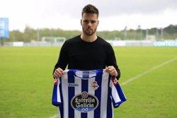 Foto: Futbol.- Miguel Cardoso renova pel Deportivo amb fitxa del primer equip (DEPORTIVO)