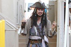 Foto: Johnny Depp paraliza la grabación de Piratas del Caribe hasta abril (CORDON PRESS)