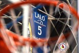 """Foto: El CB Valladolid despide a Lalo García, su jugador """"más grande"""" (ACB PHOTO)"""