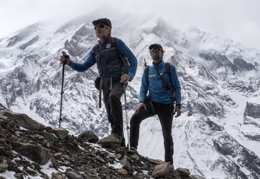 Foto: Carlos Soria prepara el asalto a la cumbre del Annapurna (BBVA)