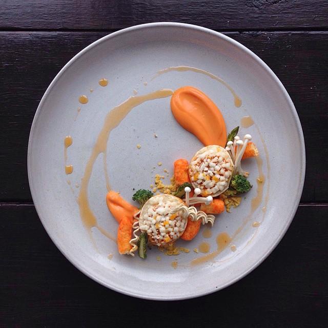 9 platos gourmet hechos con 39 comida basura 39 para for Platos gourmet